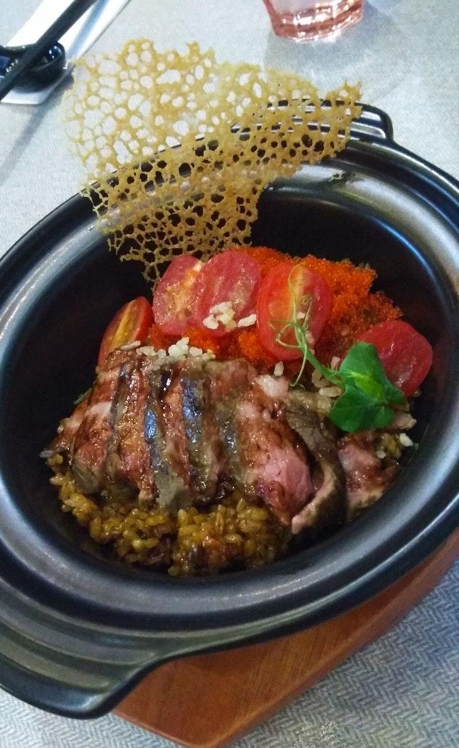 Short Rib Claypot Rice