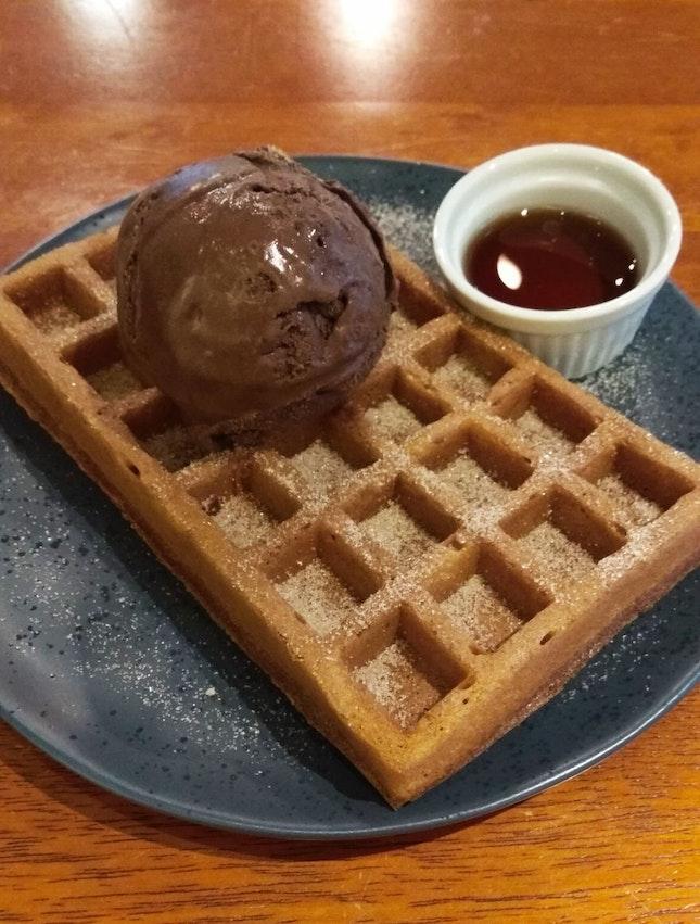 Ice Cream Waffle