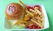 Nacho Fish & Chips Burger