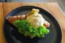 Truffle Mayonnaise Chicken Croissant