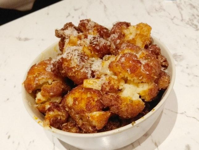 Crispy Fried Cauliflower