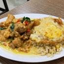 Butter Chicken Fried Rice