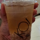 Ice Honey With Taro Q