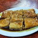 Mushroom & Pork Pan-Fried Chee Cheong Fun