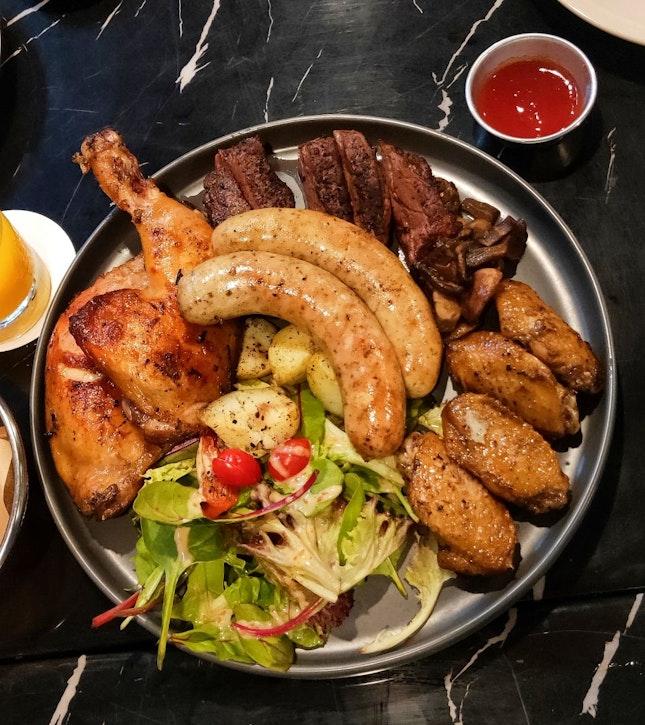 Grilled Meat Platter