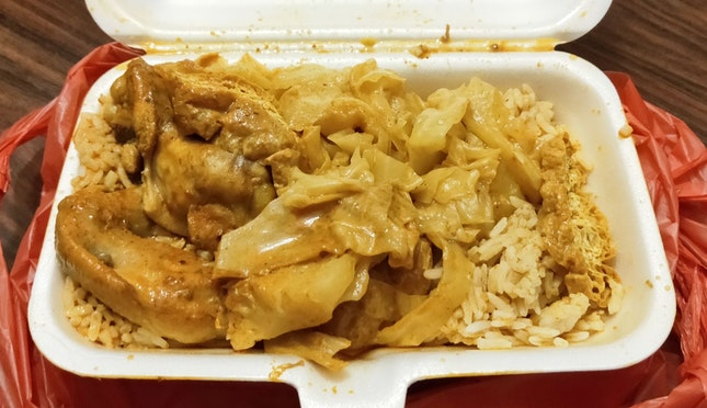 Very Curry Economical Rice