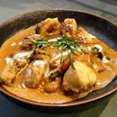 Crispy Sea Bass With Chef J's Red Curry Sauce