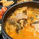 Cabbage & Beef Shank Bone Stew
