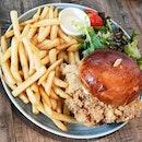 Har Cheong Chicken Burger