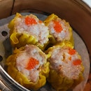 Siew Mai With Salted Egg
