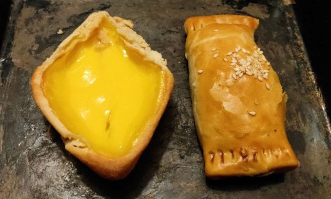 Egg Tart & Char Siew Puff