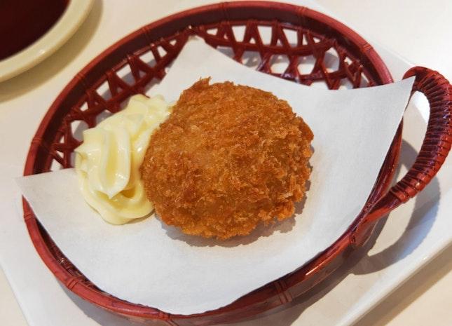 Oyster Truffle Cream Croquette