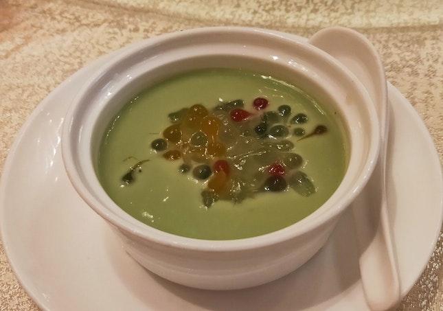 Chilled Avocado Cream With Aloe Vera