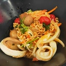 Seafood Dry Yammama Noodles