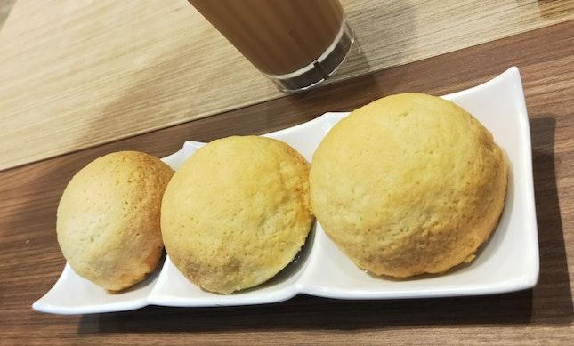 Baked Char Siew Pau