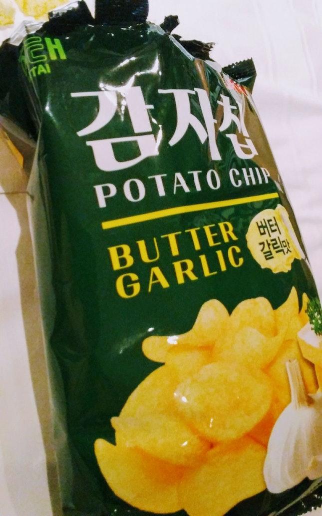 Butter Garlic Potato