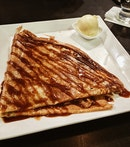 """Everybody's/Geraldine's Favourite"" Dessert Crepe"