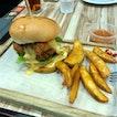 Salted Egg Chicken Burger (S$9.90)