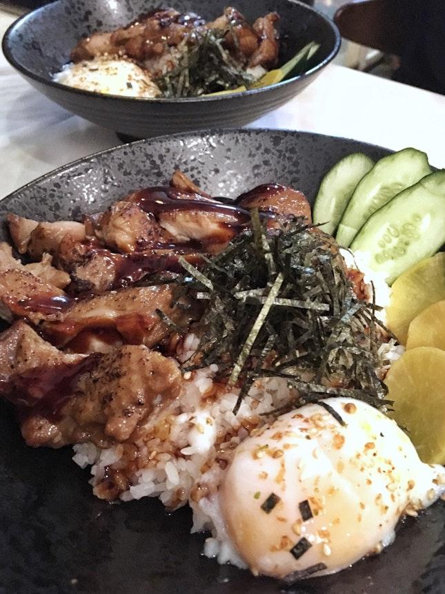 Teriyaki Chicken Don (L:$16.90)