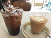 Iced Chocolate And Latte