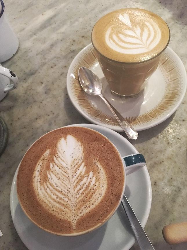 Mocha And Latte