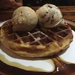 Double Scoop With Waffle $10.70