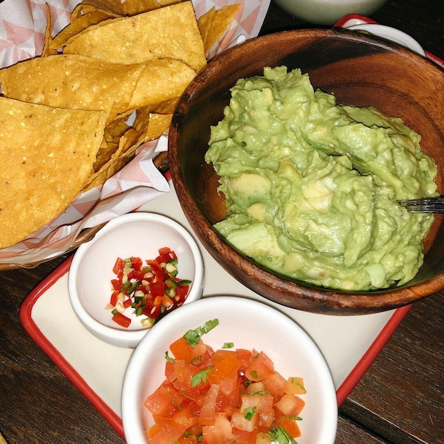DIY Chips & Guacamole