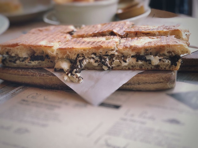 Truffle Toasties