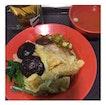 水饺香菇粿条