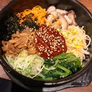 Hot Stone Bibimbap (Chicken)