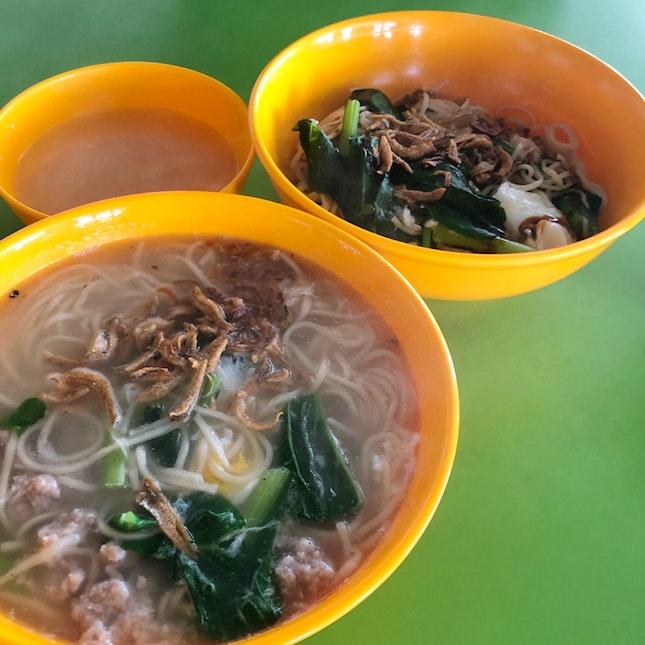 Dry dumplings you mian 🥟 & Soup you mian