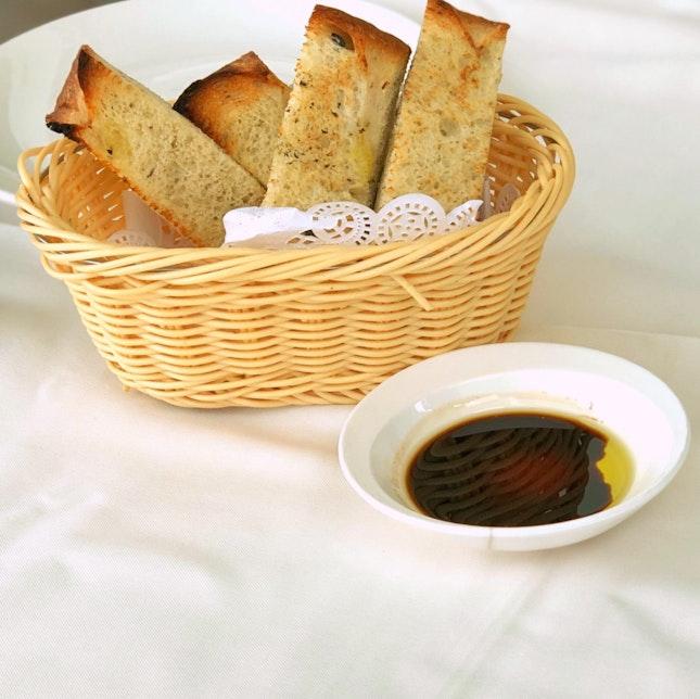 Focaccia Bread Basket