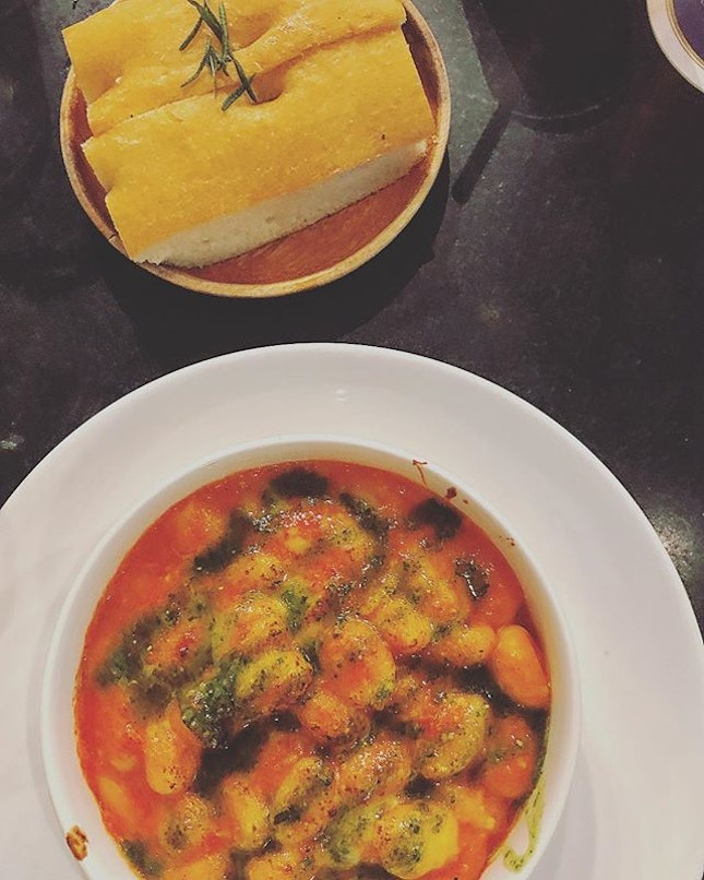The most delicious gnocchi in town @sons.singapore!