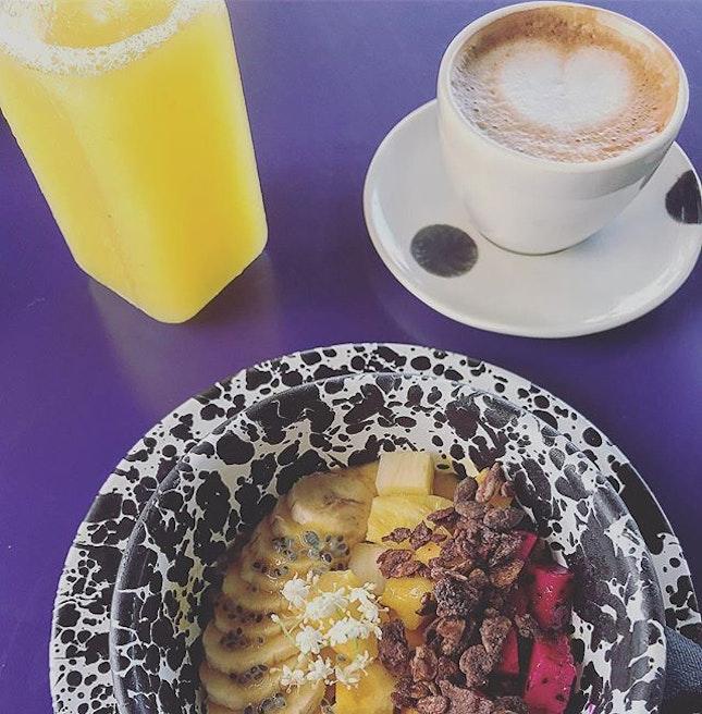 First breakfast in Bali!