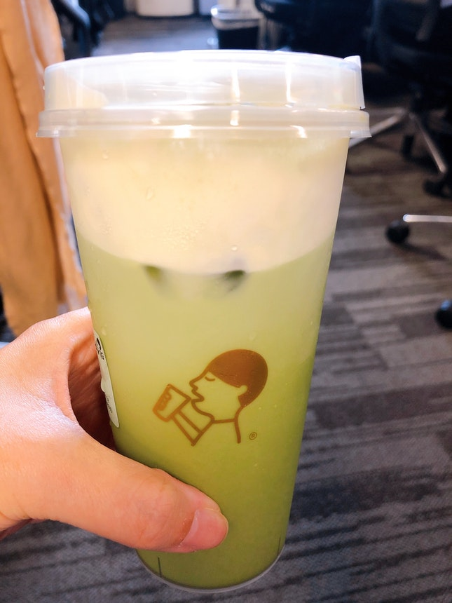 Jade Matcha Cheezo Tea