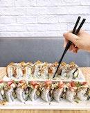 The Art of Japanese Maki rolls.