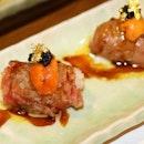 A4 Wagyu Beef Uni Sushi