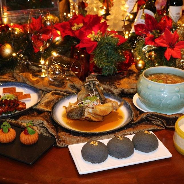 Tien Court A-La-Carte Christmas Buffet