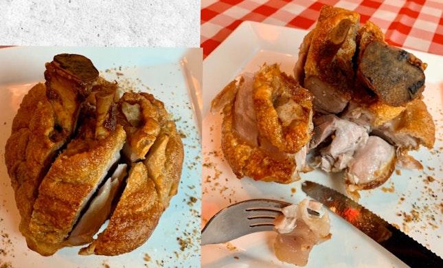 German Pork Knuckle & Sauerkraut