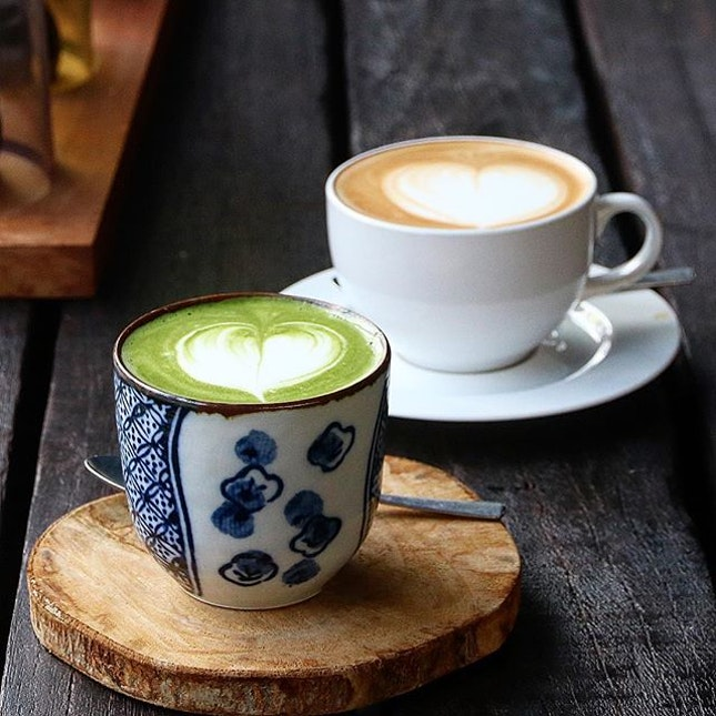 Sudden craving for matcha latte!