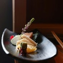 Sashimi is easily one of our favourite course of any Japanese set menu!