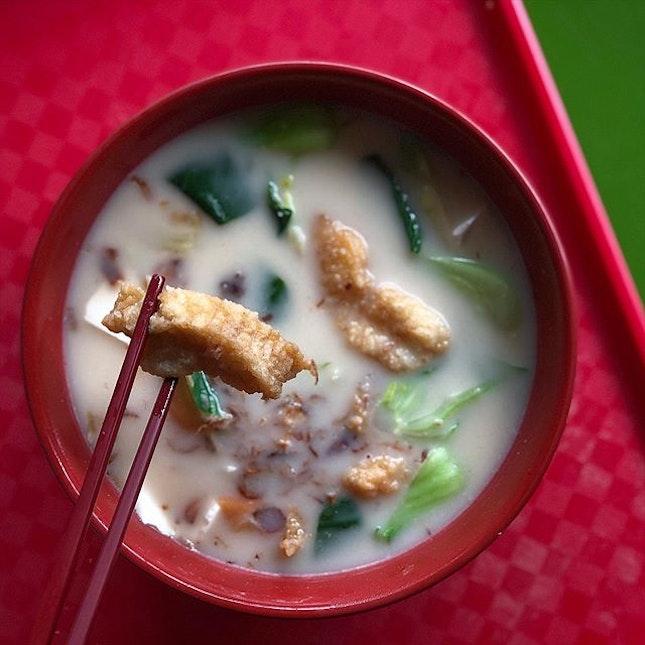 Fish soup at Maxwell!