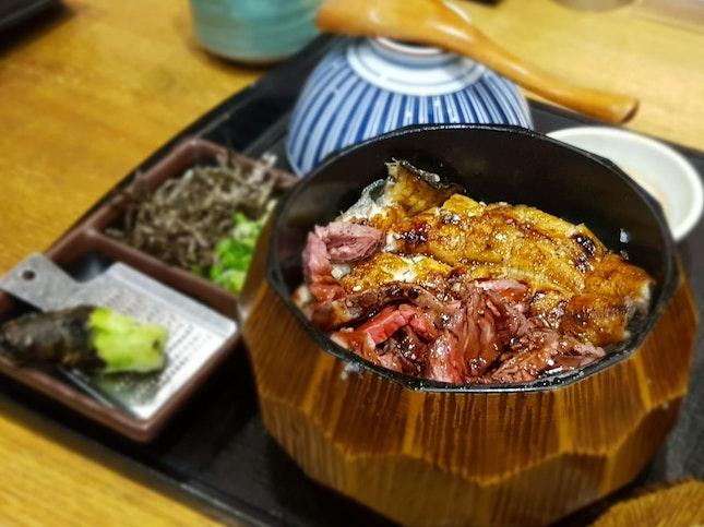 Roast Beef With Unagi Hitsumabushi