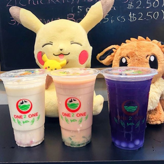[Invited Tasting] It's my 1st time visiting One 2 One, a hidden gem for less creamer, flavourful health-tea bubble tea located at Sunshine Plaza.