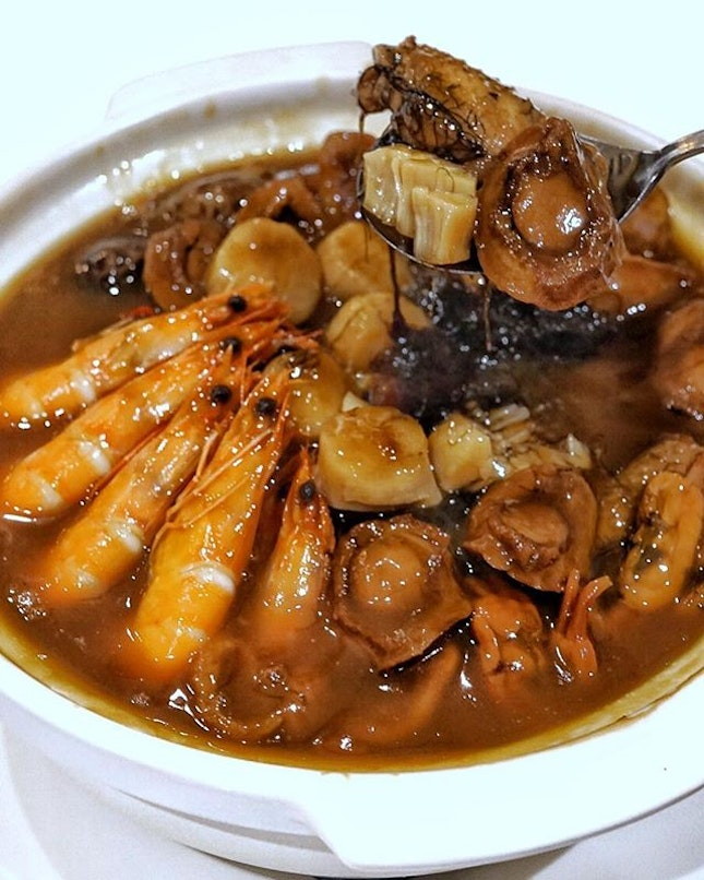 """""""Pot of Goodies"""" - Abalone from @putien_sg symbolises cohesion, unity and prosperity."""