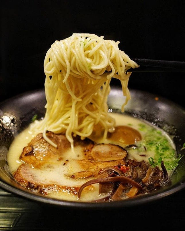 Feature double rich tonkotsu ramen from @ramenchampion_sg , special created by Chief Ohashi and Chief Tomiyama.