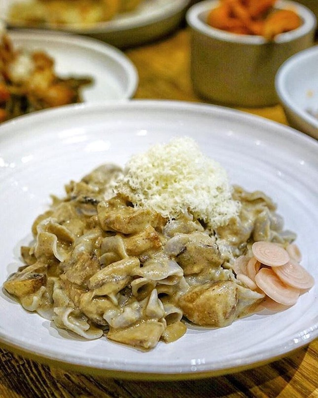 @pastasupremosg located at Suntec City, it's a pop-up restaurant ( until Late 2020) that first-in-Singapore handmade pasta creation that are customisable, full of flavour and affordable.