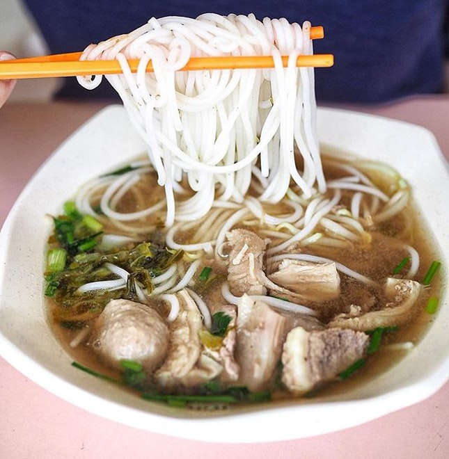 Hong Heng Beef Noodle Soup and Laksa.