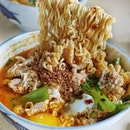 Spicy Koka Noodles from Hai Xian Zhu Zhou.