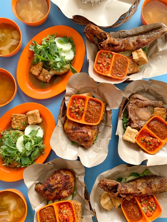 One thing that I missed from Indonesia is the food.